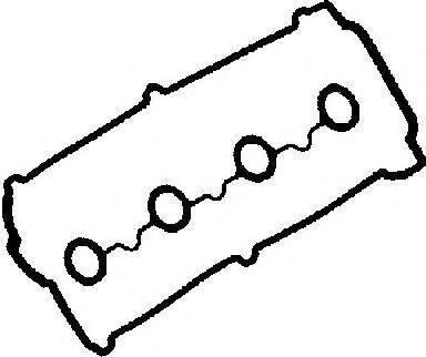 Комплект прокладок, крышка головки цилиндра GLASER V3701000