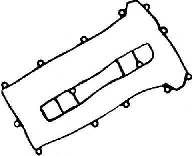 Прокладки клапанной крышки GLASER V3673200