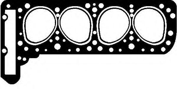 Прокладка ГБЦ GLASER H0822400