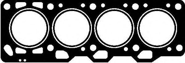 Прокладка ГБЦ GLASER H0413200