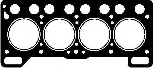 Прокладка ГБЦ GLASER H0334500