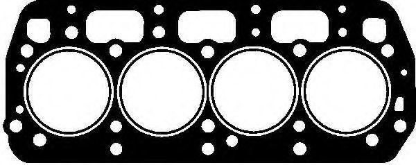 Прокладка ГБЦ GLASER H5002200