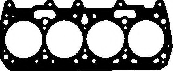 Прокладка ГБЦ GLASER H2505520