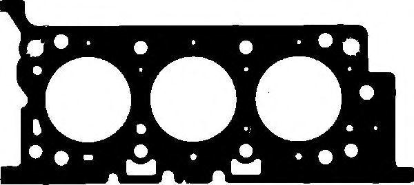 Прокладка ГБЦ GLASER H5046500