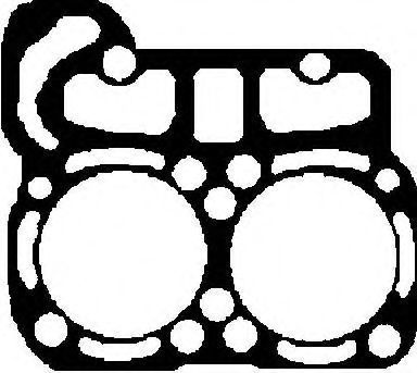 Прокладка ГБЦ GLASER H5027500