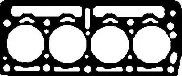 Прокладка ГБЦ GLASER H5027600