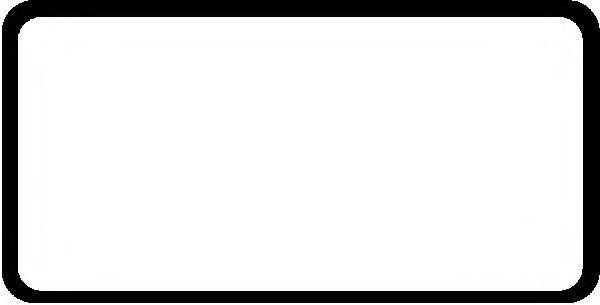 Прокладка клапанной крышки GLASER X0458301