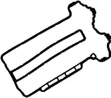 Прокладка клапанной крышки GLASER X5374801