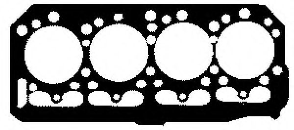 Прокладка, головка цилиндра GLASER H0101400
