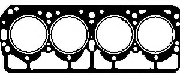 Прокладка, головка цилиндра GLASER H0214400