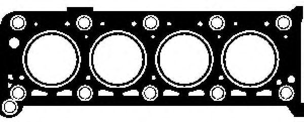 Прокладка ГБЦ GLASER H0237100