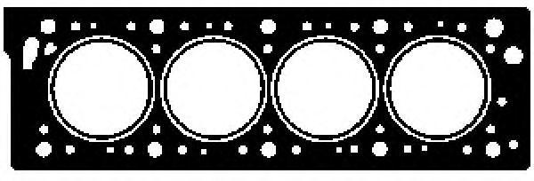 Прокладка ГБЦ GLASER H07312-00