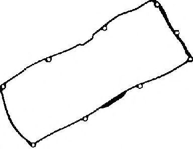 Прокладка, крышка головки цилиндра GLASER X5375201