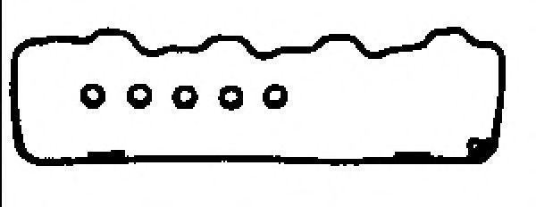 Комплект прокладок, крышка головки цилиндра GLASER V3687600
