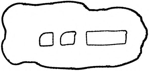 Комплект прокладок, крышка головки цилиндра GLASER V3673300