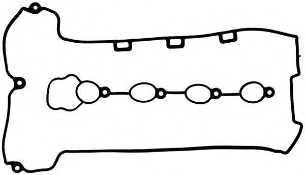 Комплект прокладок, крышка головки цилиндра GLASER V5949900