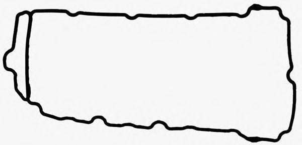 Прокладка, крышка головки цилиндра GLASER X5950901