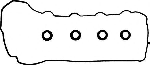 Комплект прокладок, крышка головки цилиндра GLASER V9026100