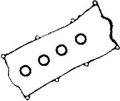 Комплект прокладок, крышка головки цилиндра GLASER V3796200