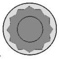 Комплект болтов головки цилидра GLASER T0660400