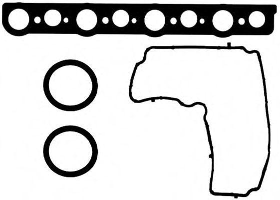 Комплект прокладок, крышка головки цилиндра GLASER V3810200
