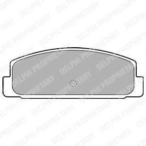 Колодки тормозные DELPHI LP1766