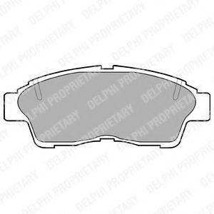 Изображение Колодки тормозные DELPHI LP789: заказать
