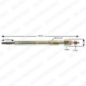 Свеча накаливания DELPHI HDS390