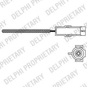 Лямбда-зонд DELPHI ES10966-12B1
