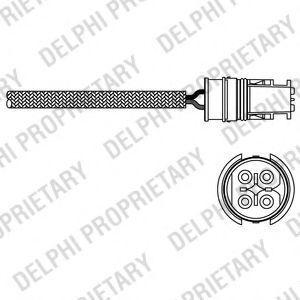 Лямбда-зонд DELPHI ES20312-12B1