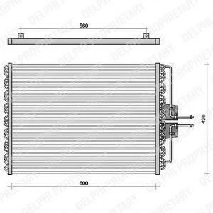 Радиатор кондиционера DELPHI TSP0225061