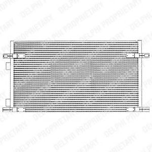 Радиатор кондиционера DELPHI TSP0225212