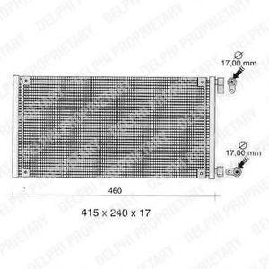Конденсатор, кондиционер DELPHI TSP0225272