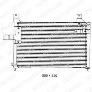 Конденсатор, кондиционер DELPHI TSP0225301