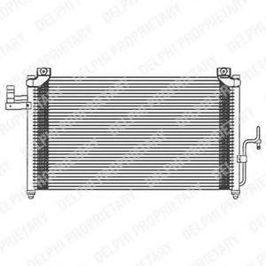 Радиатор кондиционера DELPHI TSP0225474