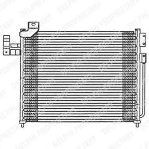 Радиатор кондиционера DELPHI TSP0225475