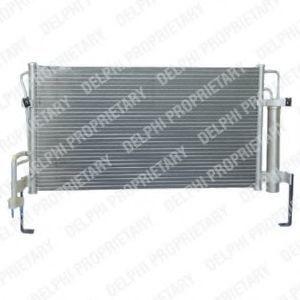 Радиатор кондиционера DELPHI TSP0225558
