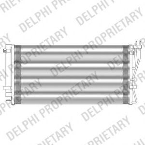 Радиатор кондиционера DELPHI TSP0225604
