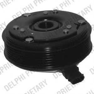 Электромагнитное сцепление компрессора кондиционера DELPHI 0165018/0