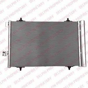 Радиатор кондиционера DELPHI TSP0225665