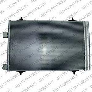 Радиатор кондиционера DELPHI TSP0225666