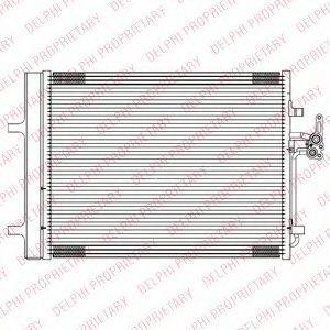 Радиатор кондиционера DELPHI TSP0225689