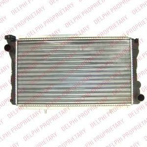 Радиатор, охлаждение двигателя DELPHI TSP0524072