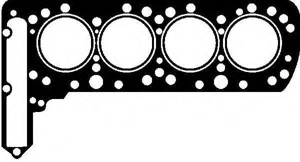 Прокладка, головка цилиндра VICTOR REINZ 612405030