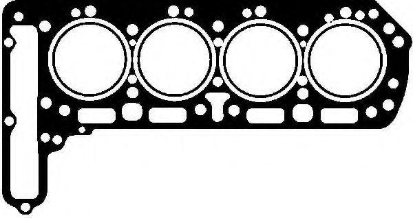 Прокладка, головка цилиндра VICTOR REINZ 612406040
