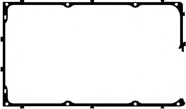 Прокладка, крышка головки цилиндра VICTOR REINZ 711304200
