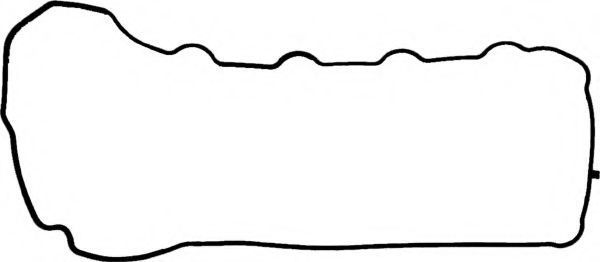 Прокладка, крышка головки цилиндра VICTOR REINZ 711058200