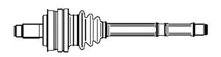 Шарнирный комплект, приводной вал FARCOM 134247