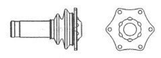 Шарнирный комплект, приводной вал FARCOM 134308