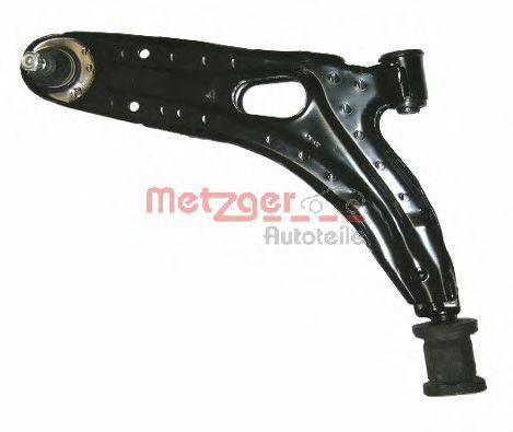 Рычаг независимой подвески колеса, подвеска колеса METZGER 58032701